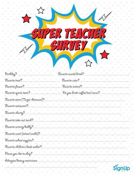printable superhero quiz questions and answers teacher survey signup com