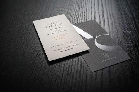 contoh design kartu nama simple gambar desain kartu nama terbaru percetakan karawang kiic