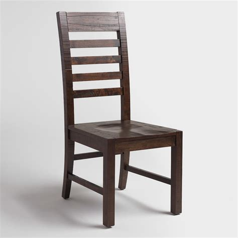 Distressed Wood Dining Chairs Distressed Wood Donnovan Dining Chairs Set Of 2 World Market
