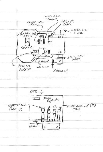 1957 chevy corvette fuse panel diagram 1957 chevy fuse box