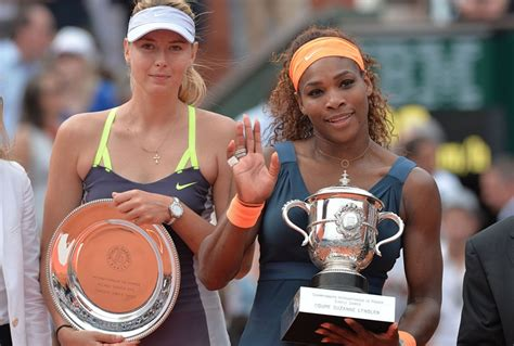 How Much Money Did Serena Williams Win Today - serena williams and maria sharapova exchange insults girl sh t lainey gossip
