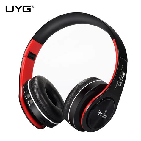Bluetooth Headphone Tf Card Fm Receiver With Mic Bh 811 uyg wireless bluetooth headphone headset earphones headphones with microphone tf card