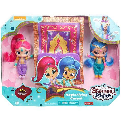 shimmer shine magic flying carpet dolls toys casey