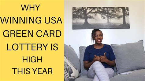 usa green card lottery    stand  high chance