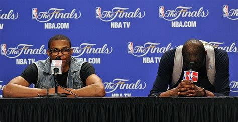 westbrook kevin durant finals larry brown sports