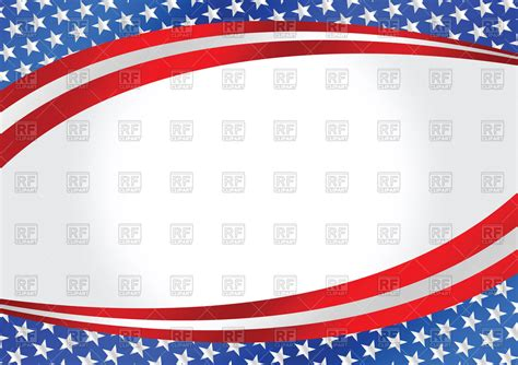 free vector clipart images wavy background with usa flag royalty free vector clip