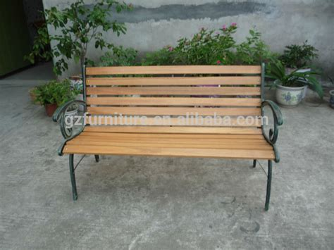 wrought iron bench wood slats outdoor cast iron garden bench buy wooden slats with