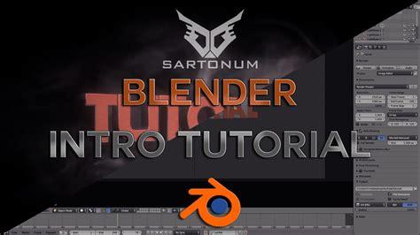 tutorial blender intro ger blender intro tutorial youtube
