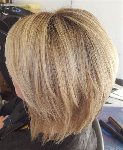 front and back views of chopped hair 70 fabulous choppy bob hairstyles best textured bob ideas