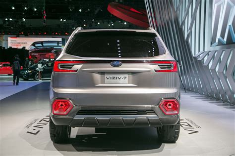 subaru suv concept subaru viziv 7 suv concept first look review
