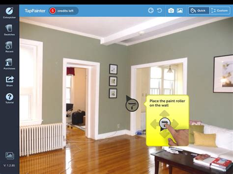 tappainter see what your room looks before you paint it technabob