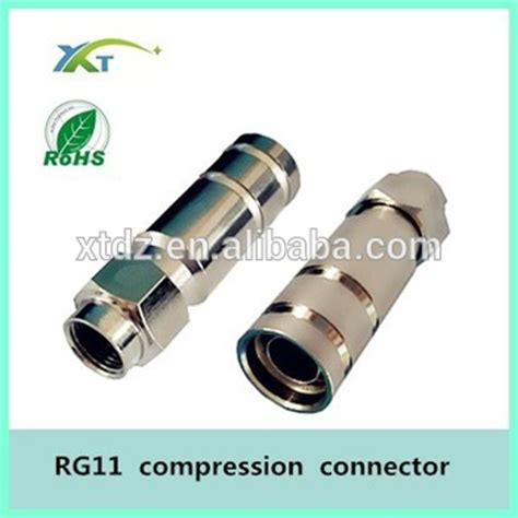 Connector Rg 11 by Rg11 Feed Thru Connector Rg11 Connector Rg11 F Connector