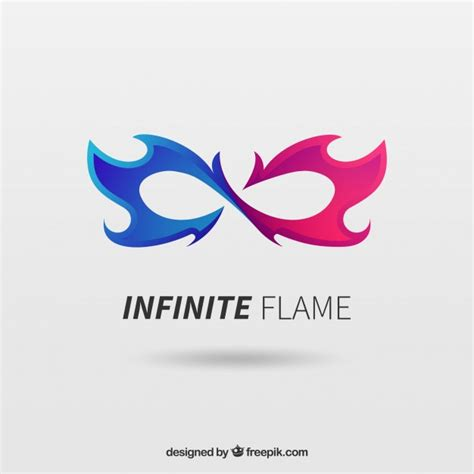 free logo design with text infinite logo vector free download