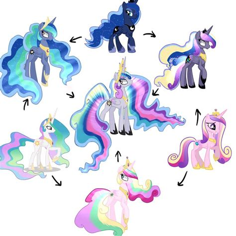 my little pony princess celestia 974431 artist cristle1235 fusion fusion diagram