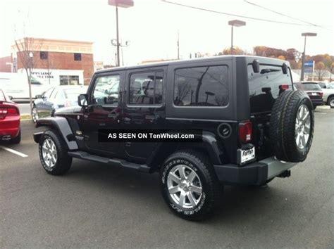 2012 Jeep Wrangler Unlimited 4 Door 2012 Jeep Wrangler Unlimited Sport Utility 4 Door