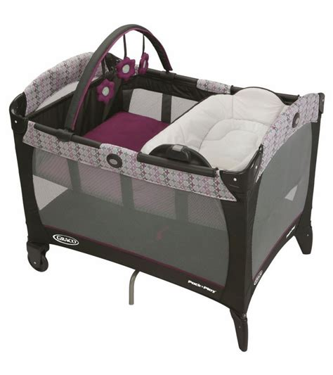 how to make a pack n play more comfortable graco pack n play playard with reversible napper