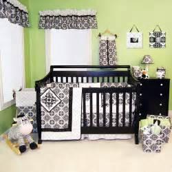 Baby Crib Decor Black And White Nursery Baby Ideas
