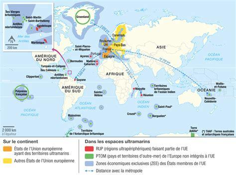 la carte et le 2081365456 les territoires ultramarins de l union europ 233 enne