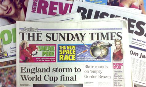 sunday times careers section nrs survey reveals newspaper reading habits media the