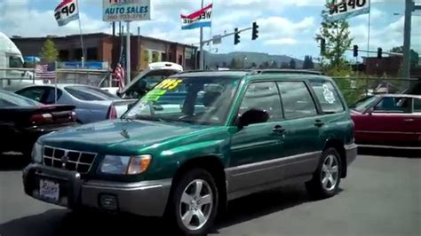 car manuals free online 1998 subaru forester navigation system 1998 subaru forester sold youtube
