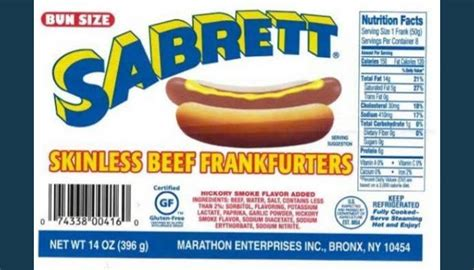 sabrett recall sabrett recalls dogs sausages bone pieces gephardt daily