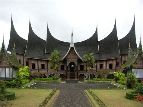 just izzat hazim minangkabau or rumah gadang