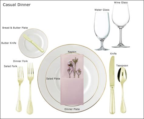how to set a table for dinner table setting guides at our party rental store in san jose