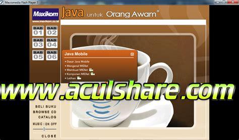 Pemrograman Java 2 Dilengkapi Cd java untuk orang awam ebook free software