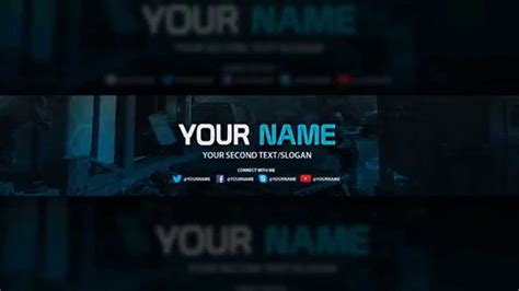 photoshop templates for youtube youtube banner template free download psd youtube