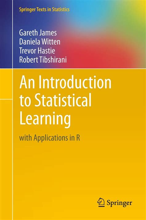 learning with r books trevor hastie publications