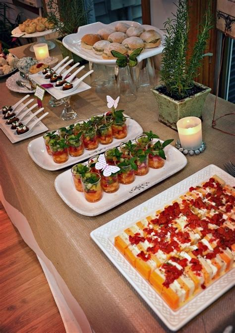 appetizer party dinner party menu ideas pinterest