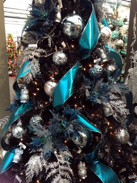 blue and silver tree ideas tree decorations blue and silver
