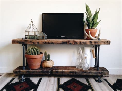 Console Table And Shoe Rack Reclaimed Barn Wood Industrial Pipe Console Table Shoe Rack