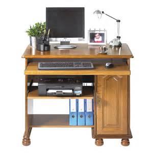 meuble informatique 1p chene rustique maison et styles