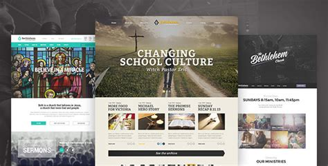 plantillas wordpress bethlehem church wordpress theme