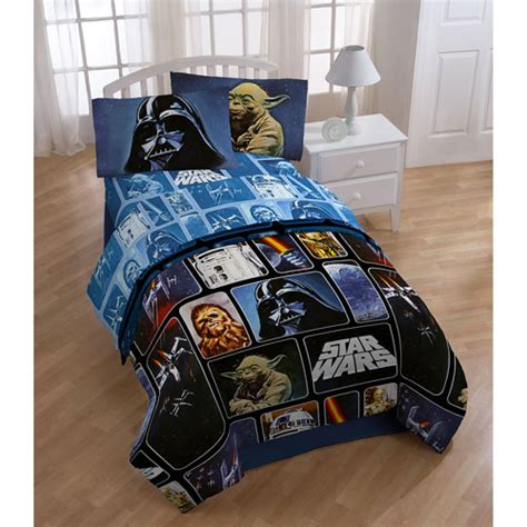 star wars full comforter star wars twin full size comforter walmart com