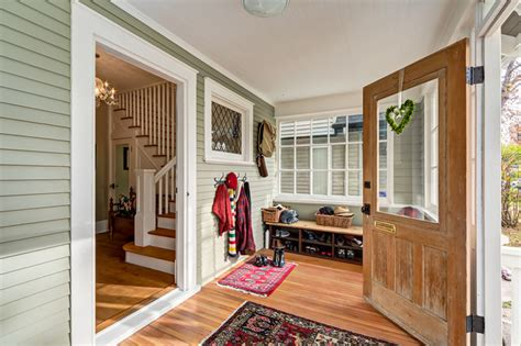 Window Treatments For Enclosed Porch by Entryways And Stairs