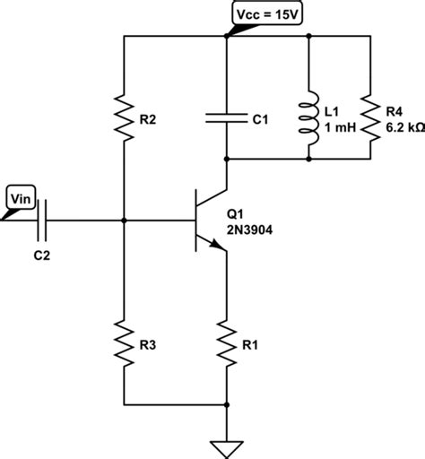 integrated circuit tuned lifier bjt design a tuned common emitter lifier electrical engineering stack exchange