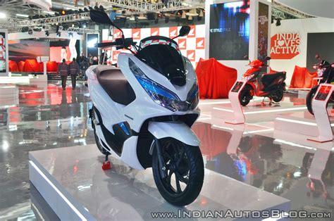 Pcx 2018 Second by Honda Pcx Electric Concept Auto Expo 2018 Live