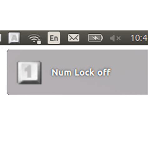 unity keypad tutorial turn on numlock automatically when ubuntu 14 04 boots up