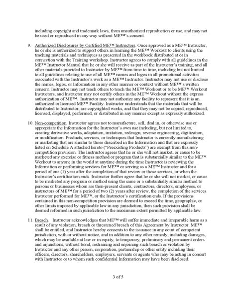 non compete non disclosure agreement free download