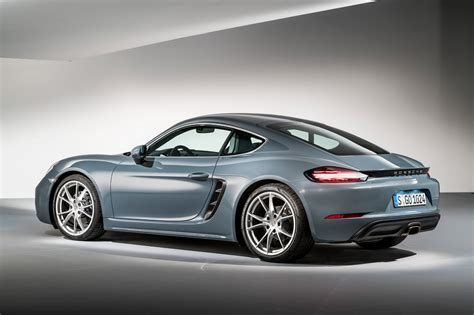 Porsche Caiman by Porsche Puts The Boost In New 718 Cayman Revealed By Car