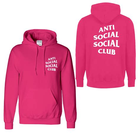 Hoodie Anti Social Social Club 14 anti social club hoodie mens inspired sold out