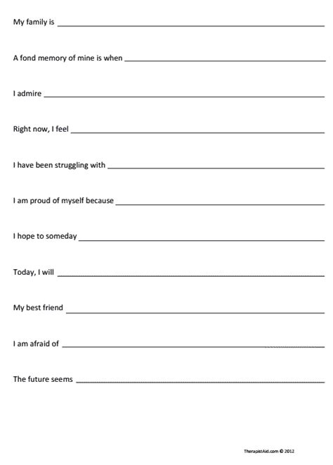 Family Therapy Worksheets by Family Therapy Worksheets Www Pixshark Images