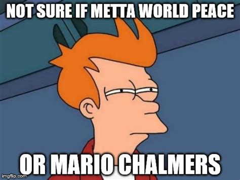 Mario Chalmers Meme - futurama fry meme imgflip