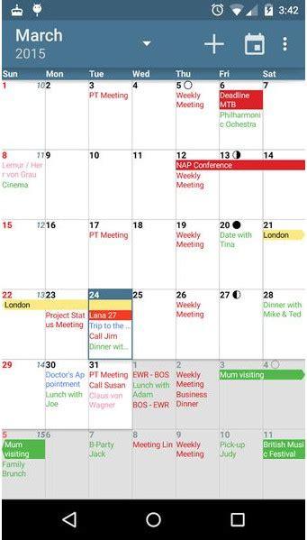 best calendar widgets top 7 best calendar app for android best android