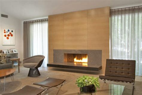 Low Fireplaces by Low Slung Fireplace