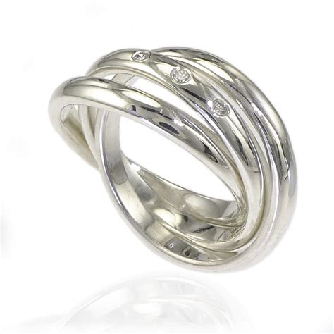 Inexpensive Wedding Rings by Inexpensive Wedding Rings 3 Band Russian Wedding Ring