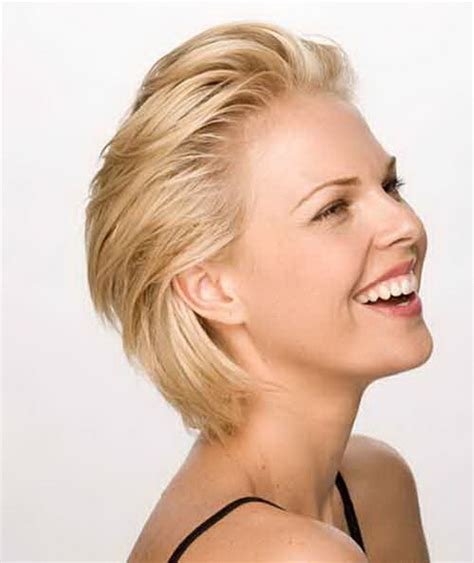 short hair styles off the face most popular short haircuts