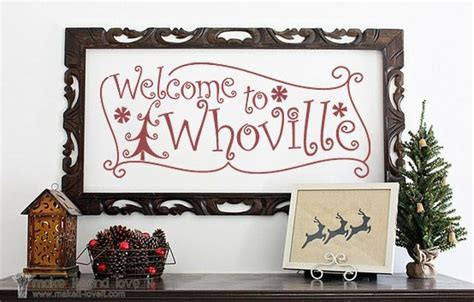 welcome to whoville vinyl wall 14 best whoville ideas images on